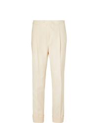 Pantaloni eleganti beige di Saman Amel