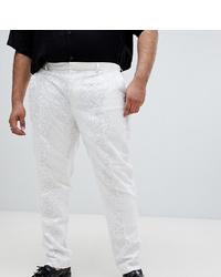 Pantaloni eleganti bianchi di ASOS Edition
