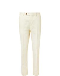 Pantaloni eleganti bianchi di Brunello Cucinelli