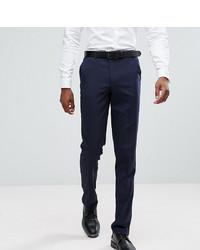 Pantaloni eleganti blu scuro di ASOS DESIGN