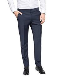 Pantaloni eleganti blu scuro di Esprit