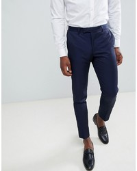 Pantaloni eleganti blu scuro di MOSS BROS