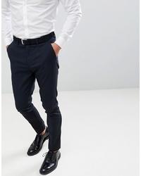 Pantaloni eleganti blu scuro di New Look