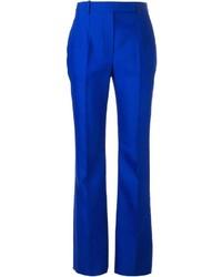 Pantaloni eleganti blu di Alexander McQueen