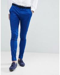 Pantaloni eleganti blu di Devils Advocate