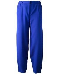 Pantaloni eleganti blu di Fendi
