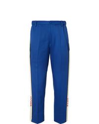 Pantaloni eleganti blu di Gucci