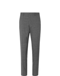 Pantaloni eleganti di lana grigi di Hugo Boss