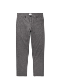 Pantaloni eleganti di lana grigi di Nn07