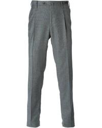 Pantaloni eleganti di lana grigi di Pt01