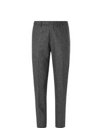 Pantaloni eleganti di lana grigio scuro di Boglioli