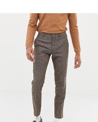 Pantaloni eleganti di lana marroni di Heart & Dagger