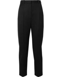 Pantaloni eleganti di lana neri di Alexander McQueen