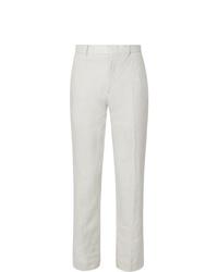 Pantaloni eleganti di lino bianchi di Club Monaco