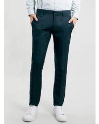 Pantaloni eleganti foglia di tè