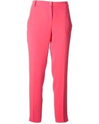 Pantaloni eleganti fucsia
