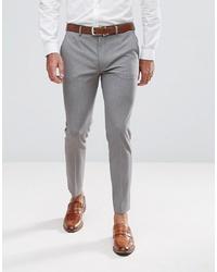Pantaloni eleganti grigi di ASOS DESIGN