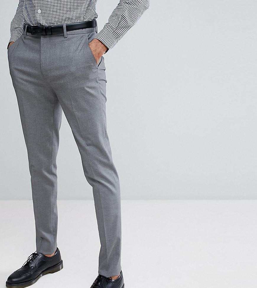 7b9568e712e4 Pantaloni eleganti grigi di ASOS DESIGN, €22 | Asos | Lookastic