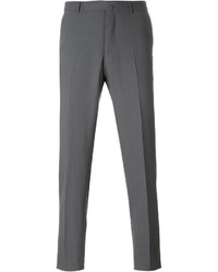 Pantaloni eleganti grigi di Ermenegildo Zegna