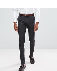Pantaloni eleganti grigio scuro di ASOS DESIGN