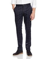 Pantaloni eleganti grigio scuro di Benetton