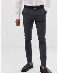 Pantaloni eleganti grigio scuro di Burton Menswear