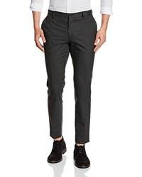 Pantaloni eleganti grigio scuro di JACK & JONES PREMIUM