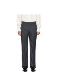 Pantaloni eleganti grigio scuro di Lemaire