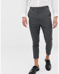 Pantaloni eleganti grigio scuro di ONLY & SONS