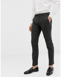 Pantaloni eleganti grigio scuro di Twisted Tailor