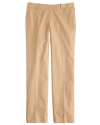 Pantaloni eleganti marrone chiaro