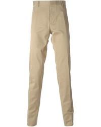 Pantaloni eleganti marrone chiaro di DSQUARED2