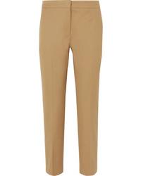 Pantaloni eleganti marrone chiaro di Jil Sander