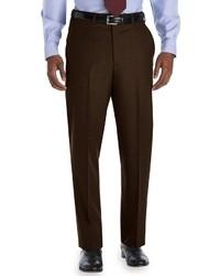 Pantaloni eleganti marrone scuro