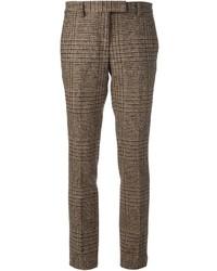 Pantaloni eleganti marroni