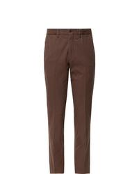 Pantaloni eleganti marroni di Rubinacci
