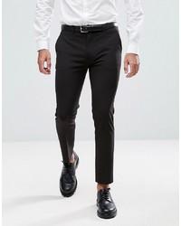 Pantaloni eleganti neri di ASOS DESIGN
