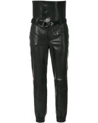 Pantaloni eleganti neri di Saint Laurent