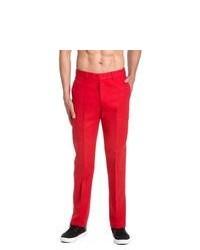 Pantaloni eleganti rossi