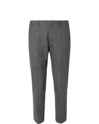 Pantaloni eleganti scozzesi grigio scuro di Ami