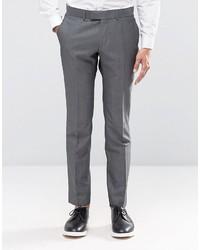Pantaloni eleganti scozzesi grigio scuro di Ben Sherman