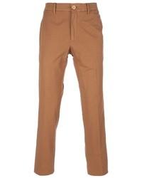 Pantaloni eleganti terracotta