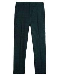 Pantaloni eleganti verde scuro