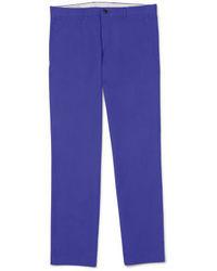 Pantaloni eleganti viola