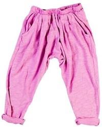 Pantaloni fucsia