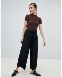 Pantaloni larghi a pois neri di Monki