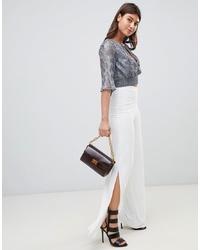 Pantaloni larghi bianchi di PrettyLittleThing