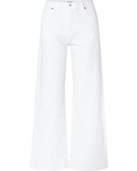 Pantaloni larghi di jeans bianchi di Eve Denim