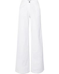 Pantaloni larghi di jeans bianchi di Vanessa Bruno