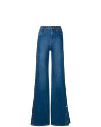 Pantaloni larghi di jeans blu di Alice + Olivia